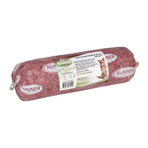 Runner Fresh For Dogs Wurst - Huhn & Rind