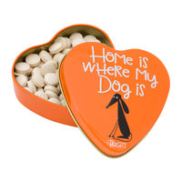 Sanal Heart-shaped Tin for Dogs