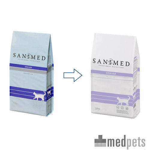 Product afbeelding van Sanimed Senior Cat