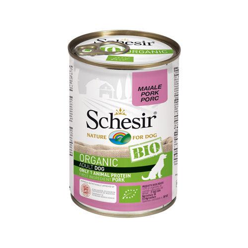 Schesir Dog Bio - Schwein - Dosen
