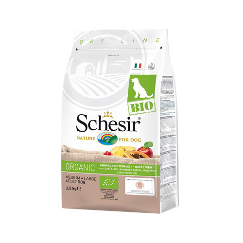 Schesir Hond Biologisch Medium & Large Puppy