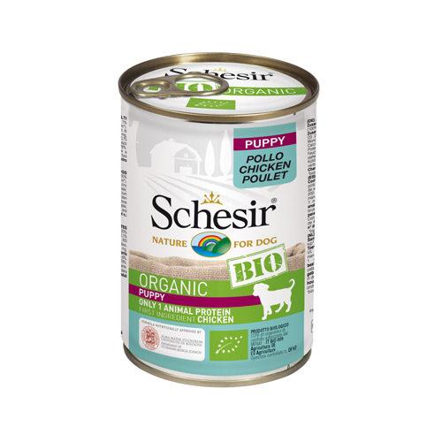 Schesir Puppy Bio - Huhn - Dosen