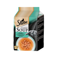 Sheba Classic Soup - Thon & Poulet - Multipack - Chat