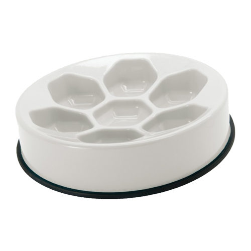 Slim-O-Matic Honeycomb Slow Feeding Bowl