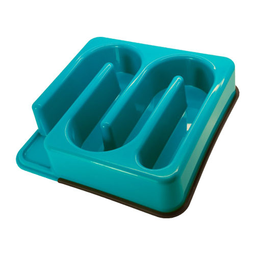 Slim-O-Matic Wavy Slow Feeding Bowl