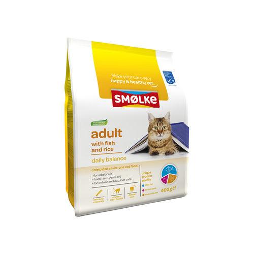 Smølke Kat Adult Vis & Rijst