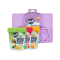 Smoofl Ice Cream Mix for Dogs Voordeelpakket - Large Mould