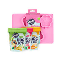 Smoofl Ice Cream Mix for Dogs Voordeelpakket - Medium Mould