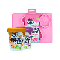 Smoofl Ice Cream Mix for Dogs Value Pack Small - Medium Mould