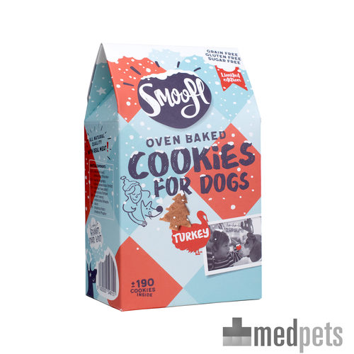 Product afbeelding van Smoofl Oven Baked Christmas Cookies for Dogs
