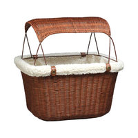 Solvit Pet Bicycle Basket Wicker