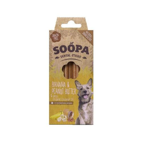 Soopa Dental Stick Banane & Erdnussbutter