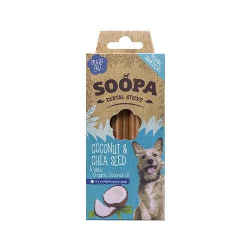 Soopa Dental Stick Kokosnuss & Chia Samen