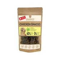 SPARROW Pet Kip Snacks met CBD