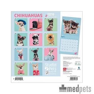 Product afbeelding van Studio Pets Chihuahua Kalender 2019