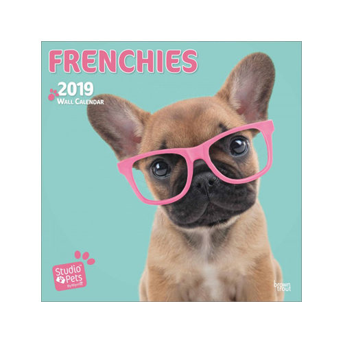 Studio Pets Frenchies Kalender 2019