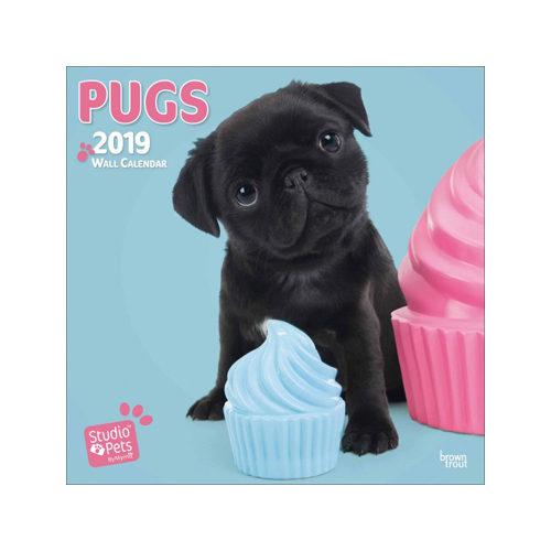 Studio Pets Pugs Kalender 2019
