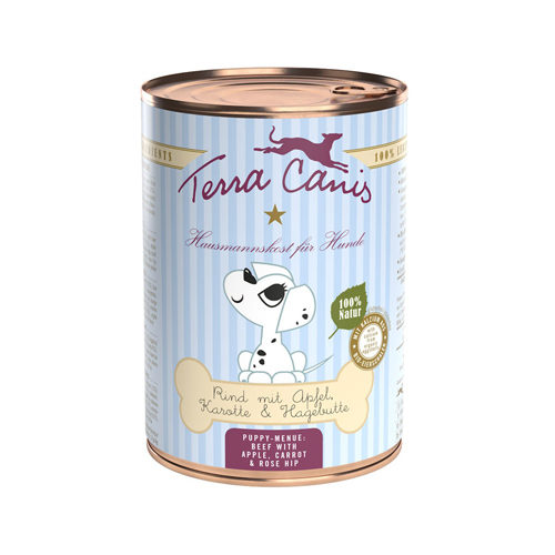Terra Canis Puppy - Rund met Appel