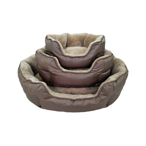 ThermoSwitch Dog Bed Santorini - Brown