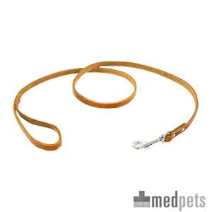 Produktbild von Tijssen Halsband & Hundeleine aus Fettleder - Cognac