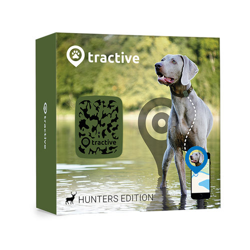 Tractive GPS Tracker Hunters Edition - Hund