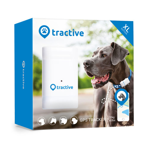 Tractive Tracker GPS XL - Chien