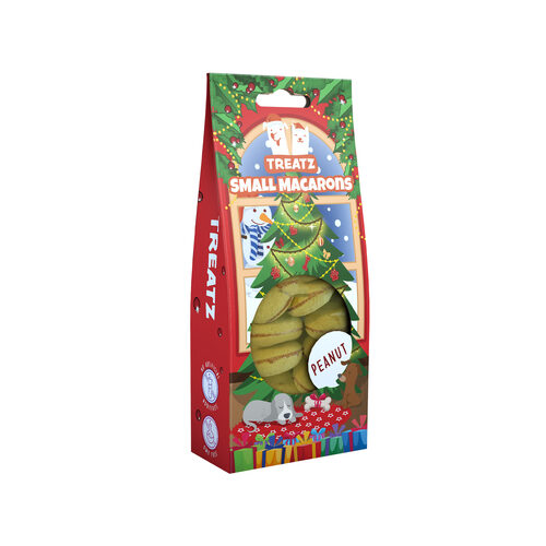 TREATZ - Christmas Macarons Soft Chew - Peanut