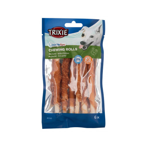 Trixie Denta Fun Chicken Chewing Rolls