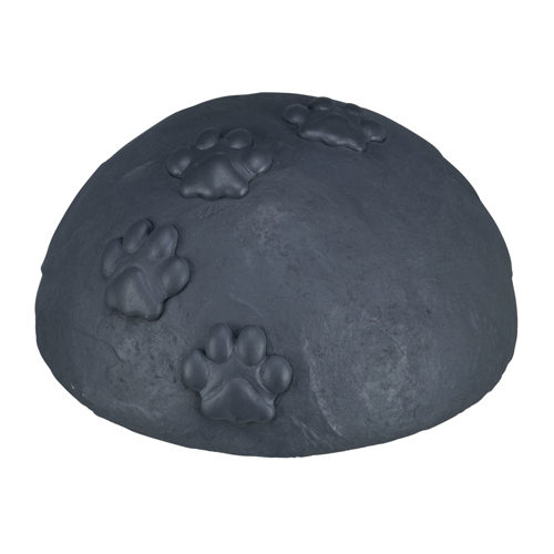 Trixie Memorial Stone Dome with Paw Print