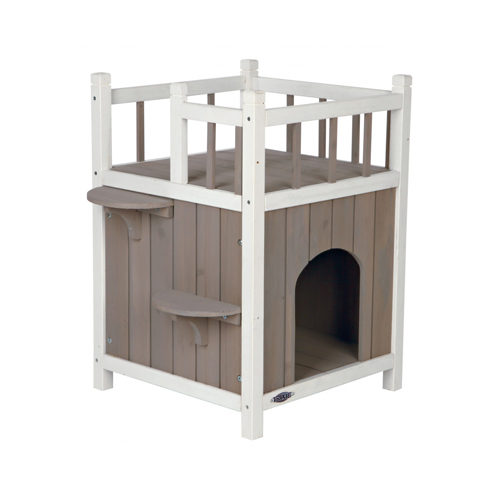 Trixie Natura Cat House with Balcony