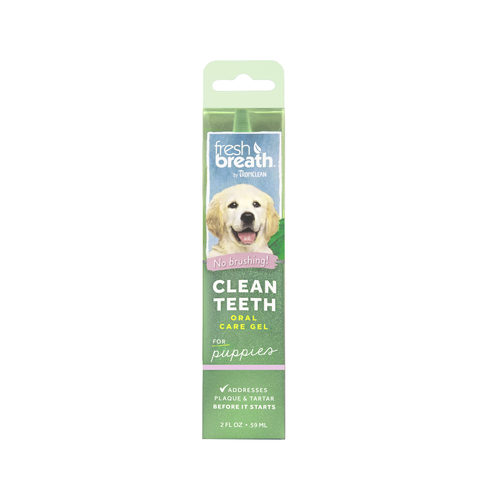 TropiClean - Fresh Breath Puppy Clean Teeth Gel