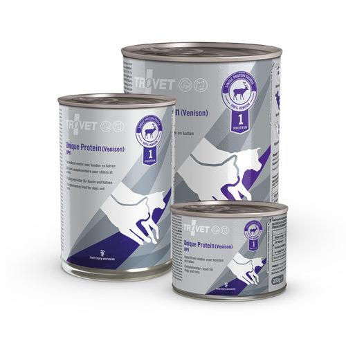 TROVET Unique Protein UPV (Venison) - Hond/Kat