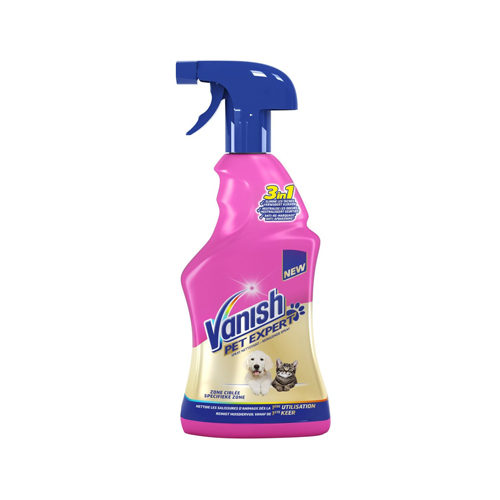Vanish Pet Expert Spray pour l'Entretien des Tapis
