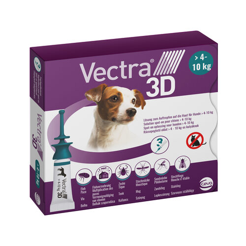 Vectra 3D Dog S - 4 tot 10 kg
