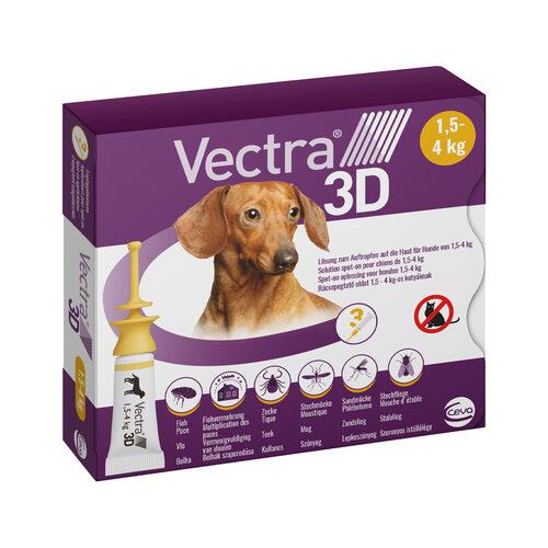 Vectra 3D Dog XS - 1,5 tot 4 kg