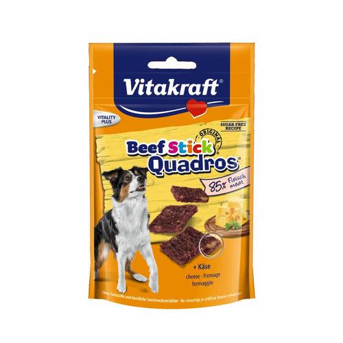 Vitakraft Beefsticks Quadros Käse