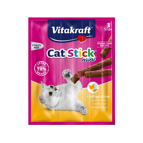 Vitakraft Cat Stick Mini - Geflügel & Leber