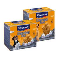 Vitakraft Mulitpack Dental Sticks 3 en 1 - Stick de Soin Dentaire pour Chien