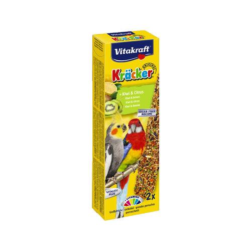 Vitakraft Kräcker Großsittiche Kiwi & Zitrus