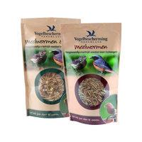 Vogelbescherming Mehlwürmer & Obst