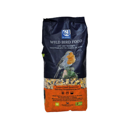 Vogelbescherming Sommer-Vital Streufutter