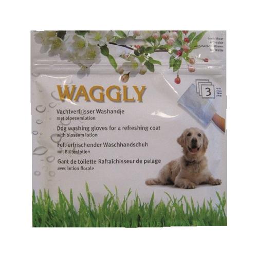 Waggly - erfrischender Waschlappen fürs Fell