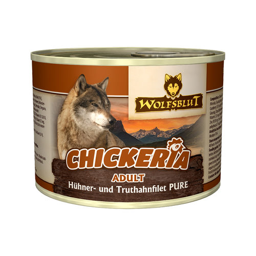 Wolfsblut Chickeria Adult Wet - Huhn & Pute