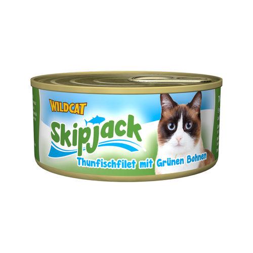 Wildcat Skipjack Wet - Thunfisch mit grünen Bohnen