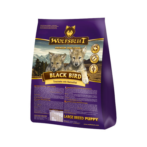 Wolfsblut Black Bird Puppy Large Breed