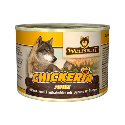 Wolfsblut Chickeria Adult Wet - Huhn & Pute mit Banane & Mango