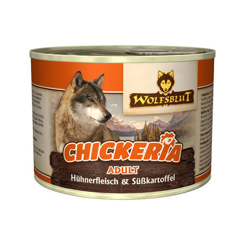 Wolfblut Chickeria Adult Wet - Huhn & Süßkartoffel