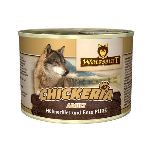 Wolfsblut Chickeria Adult Wet - Hühnerfilet & Ente