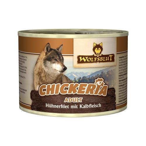 Wolfsblut Chickeria Adult Wet - Hühnerfilet & Kalbsfleisch