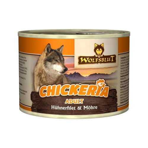 Wolfsblut Chickeria Adult Wet - Hühnerfilet & Karotte